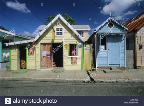 buying a house in st lucia typical caribbean houses st lucia windward islands west indies stock photo