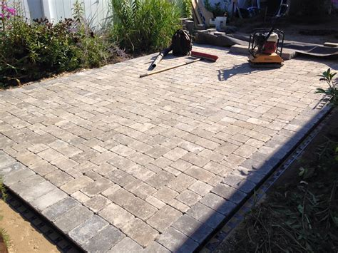 paver patio paver patio south clearbrook landscaping and