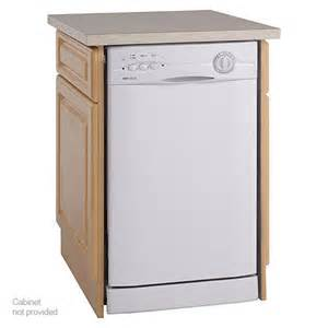 Portable Dishwasher Cabinet New Avanti Energy 18 Quot Compact Built In Dishwasher White