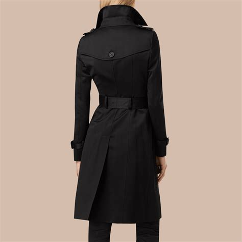 Cotton Trench Coat cotton sateen trench coat burberry