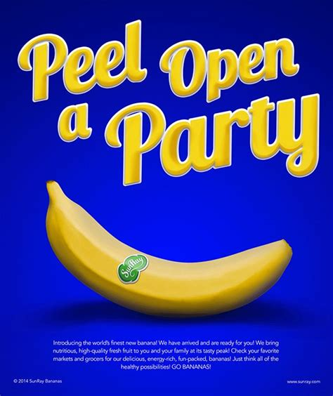 17 best images about banana ads on cold