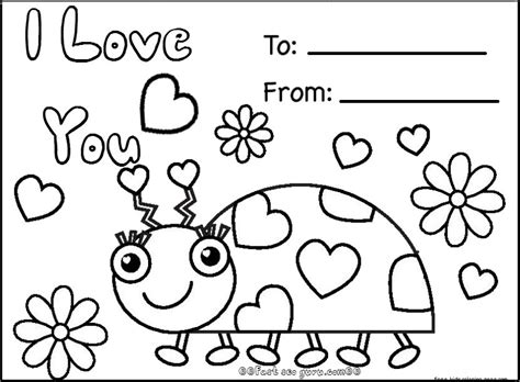 printable coloring pages valentines day cards free happy valentines day cards printablesfree printable