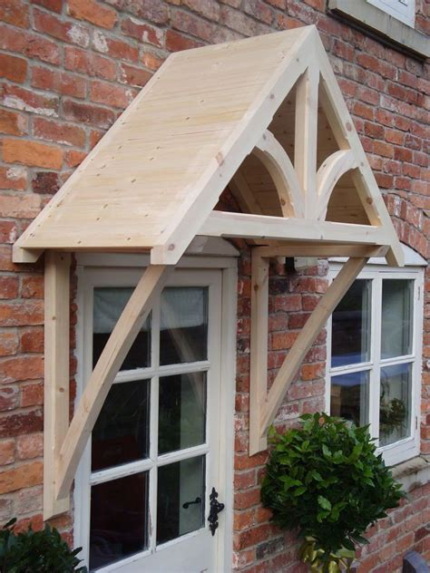 Diy Front Door Canopy Timber Front Door Canopy Porch Shropshire Door Canopies Curved Gallows In Home Furniture Diy