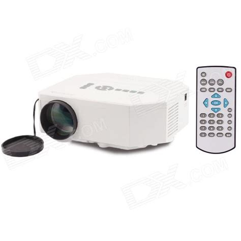 Proyektor Uc30 Uc30 30w Portable Mini Lcd High Definition Projector W Sd Av Vga Hdmi Micro Usb White