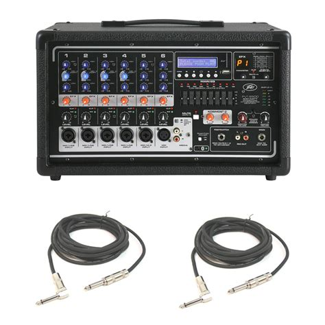 Daftar Audio Mixer Peavey peavey pvi 6500 pro audio 6 channel powered 400w mixer 2