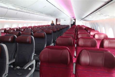 Qatar Airways Interior by Flight Test Qatar Dreamliner Business Class