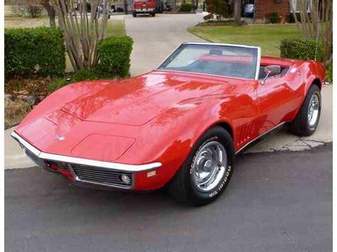 classic cars corvette 1968 chevrolet corvette for sale on classiccars 72