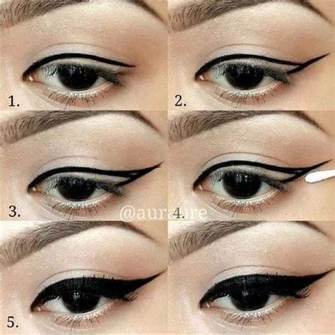 Tutorial Eyeshadow Wardah Seri D l eyeliner pour les nulles 7 tutos astuces maquillage joli maquillage et beaut 233
