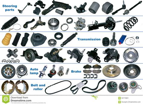 Spare Part images and names of parts of a car every pictures to pin