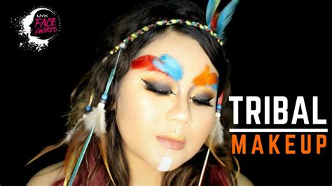 Tutorial Makeup Nyx Indonesia | tribal glam inspired makeup tutorial for nyx awards