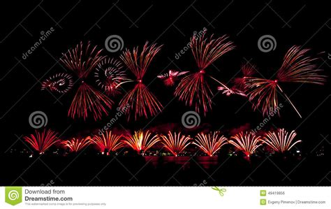 new year fireworks perth 2015 fireworks on australian day in perth 2015 stock photo