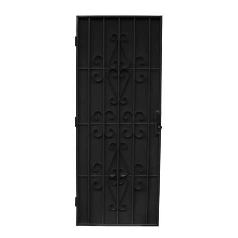 Screen Door Frame by Bastion 2024 X 806mm Black Imperial Steel Frame