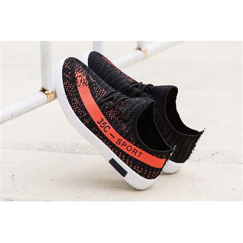 Sepatu Led Beibei White Black sepatu yezi boost 350 pria size 39 black