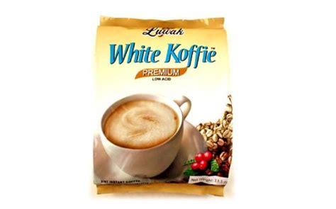 Day Kopi White Cappucinno Bag White Koffie 3 In 1 Instant Coffee Premium Low Acid Coffee Luwak 0 67oz Ebay