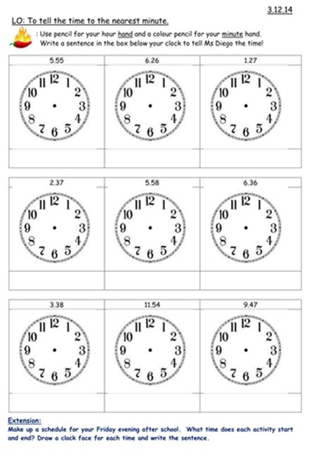 clock worksheet roman numerals new curriculum 2014 time maths for year 3 by carla