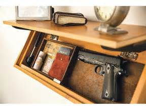 Headboard Gun Holster by Out Of Sight 14 Gun Storage Options For Home And Vehicle