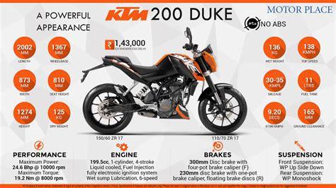 Ktm Duke 200 Engine Specs Ktm Duke 200 2017 Price Specs Review Pics Mileage