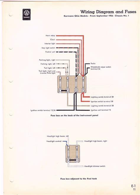 ghia wiring diagram