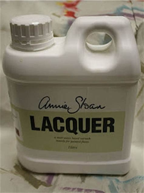 chalk paint lacquer sloan lacquer