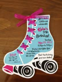 roller skating invitation template roller skate birthday invites by lilli design l l c new