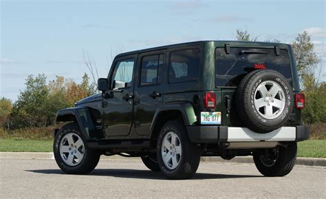 Jeep Wrangler Unlimited 2011 Car And Driver