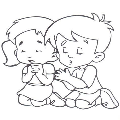 Imagenes De Niños Y Niñas Jugando | dibujos de ni 195 os y ni 195 as orando para colorear imagui