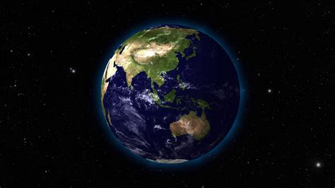wallpaper of earth rotating full view of planet earth slowly rotating in high quality