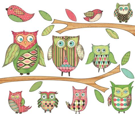owl wall mural owl peel and stick wall mural in pink rosenberryrooms