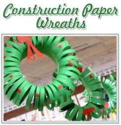 the activity mom christmas wreath craft