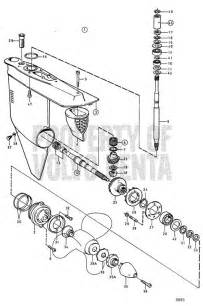 Volvo Penta 270 Outdrive Parts Diagram Volvo Penta Exploded View Schematic Lower Gear Unit Aq