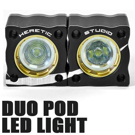 heretic duo led light pod splash n dirt distribution canada