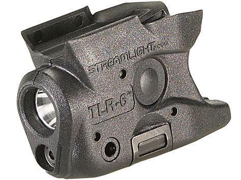 streamlight tlr 6 subcompact led pistol light with