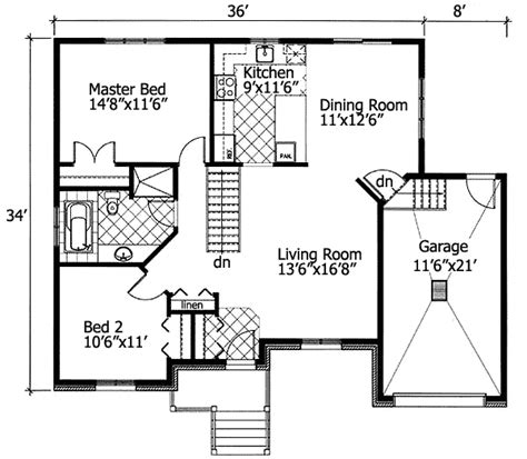 barrier free house plans plan 90204pd barrier free bungalow free floor plans narrow lot house plans and