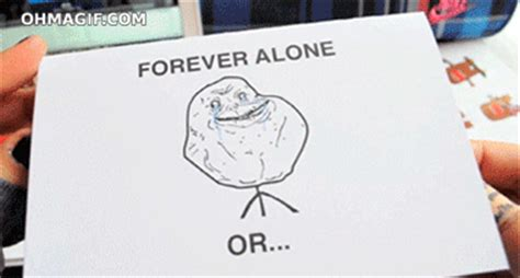 Together Alone Meme - love gif find share on giphy