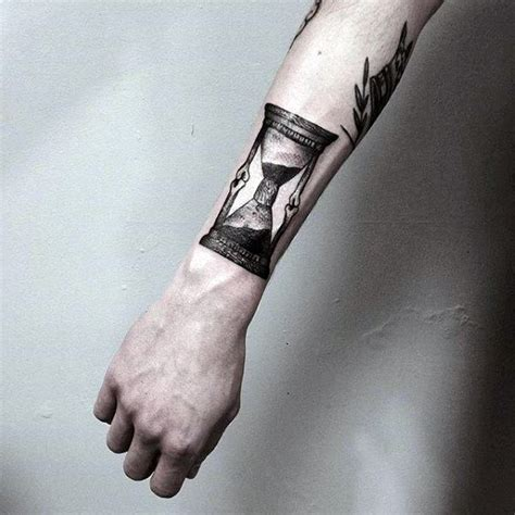 meaningful tattoos for men on arm 50 best hourglass tattoos for images on