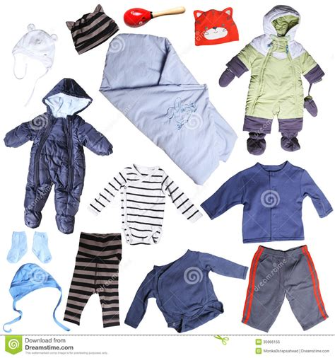 clothes for small baby boy stock image image of baby