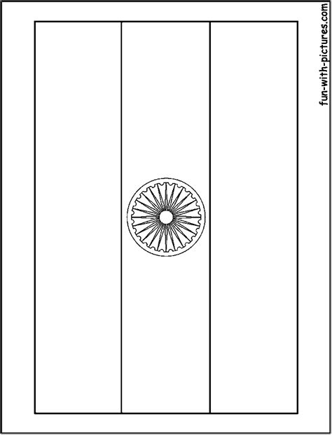 coloring page india flag free coloring pages of indian flag