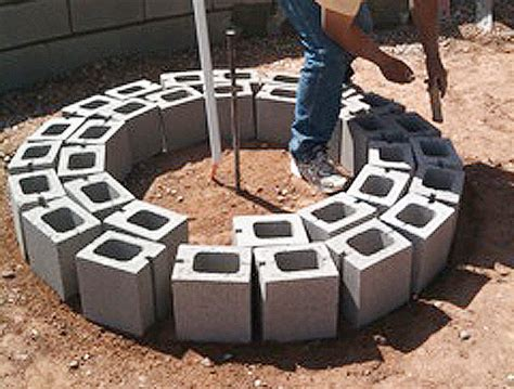 diy pit with glass rocks review in ground gas pit construction garden landscape
