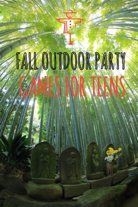 backyard party games fall outdoor party games for teens
