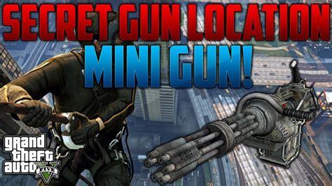 gta  mini gun location      mini gun