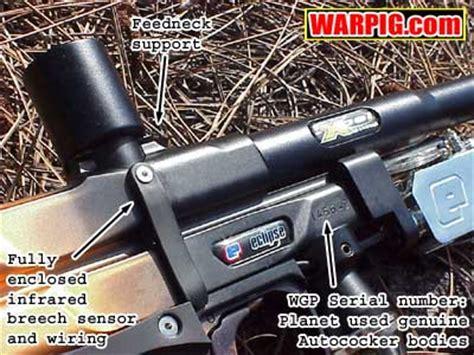 E Blade Autococker Eclipse   eBay E Blade Paintball Gun