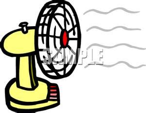 fan blowing air fan blowing clipart