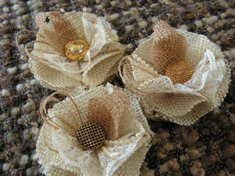 rustic shabby chic lace burlap flowers wholesale burlap