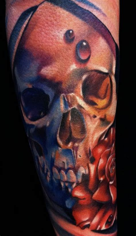 art junkies tattoo studio tattoos blackwork skull