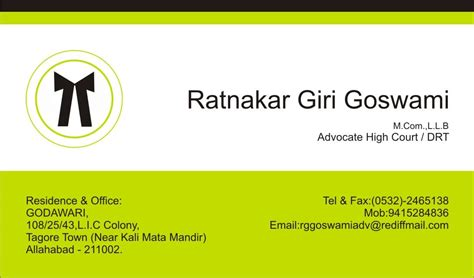 Advocate Visiting Card Design visiting card design for an advocate high court in india