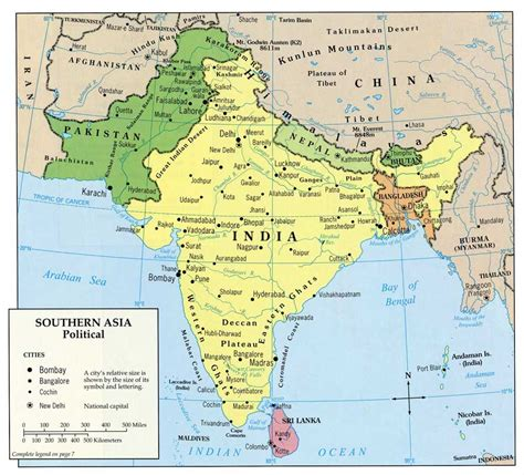 asia map geography south asia geography map travel maps and major tourist