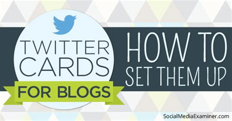 How To Set Up Itunes Gift Card On Ipod - twitter cards for blogs how to set them up social media examiner