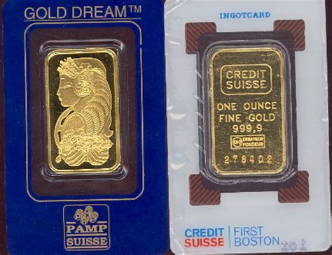 Buy With Gift Card Return For Cash - credit suisse and p suisse one ounce fine gold bars