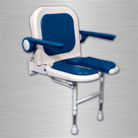 siege de pmr meubles lave mains robinetteries pmr accessoires si 232 ge rembourr 233 en u pmr avec