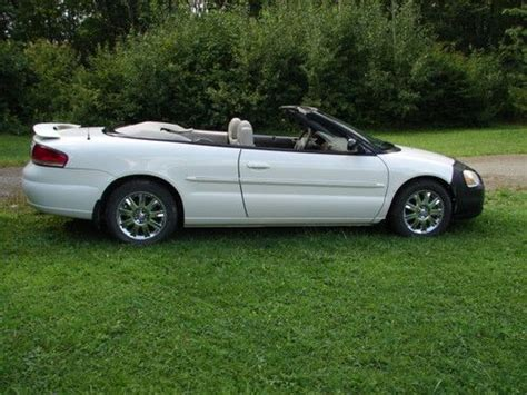 2004 Chrysler Sebring Convertible by Sell Used 2004 Chrysler Sebring Convertible Limited In